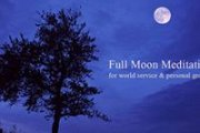 Full Moon Meditation: Meditate, Before You Medicate
