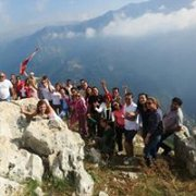JANNET Artaba Hiking with DALE CORAZON - LEBANON EXPLORERS
