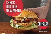 Crepaway New Menu Launching week!