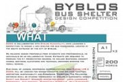 Byblos Sustainable Bus shelter Competition