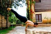 Hatha Yoga Level II Class with Aaed Ghanem at Beirut Yoga Center