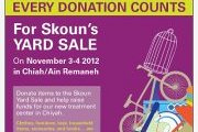 Skoun Yard Sale: Organize your closet early this year!