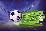 Watch UEFA Games Live on Big Screens at Lamedina Cafe