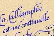 Cours de Calligraphie pour Adulte à la MJC
