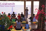 Free Yoga session at Eddésands