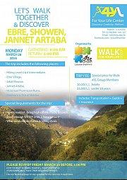 WALK 4YL TRIP TO EBRE, SHOWEN, JANNET ARTABA