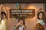 Easter Sunday Lunch with Kids Show & Egg Hunt