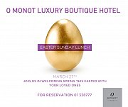 Easter Sunday Lunch at O Monot Hotel
