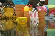Easter Crafts for Kids: Animal Flower Pots