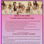 Rebirth of the Goddess - The Art of being Woman