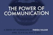 The Power of Communication: A Series of 4 Workshops with Farida Najjar