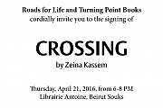 Book Signing for Crossing by Zeina Kassem