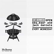 Open BBQ + Beer + Jack Daniels + Burgers + Sausages