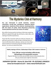 The Mysteries Club at Harmony