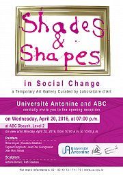 Shades and Shapes in Social Change