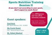 Sports Nutrition Training Session II