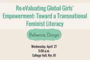Rebecca Dingo | Talk and Workshop