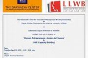 Women Entrepreneurs | Access to Finance & SME Capacity Building