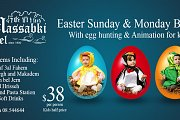Easter Buffet with Massabki Hotel Chtaurs