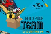 Build Your Team | Outdoor Sports, Music & Garage Sale