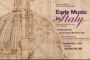 Early Music in Italy Concert