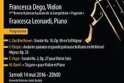 Saison de Musique de Chambre | Concert Francesca Dego & Francesca Leonardi
