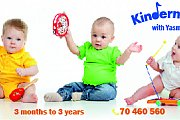 CHILD DEVELOPMENT THROUGH MUSIC CLASSES - 3 months to 18 months