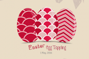Celebrating Orthodox Easter Sunday - Egg Tapping  at Tokyo Middle East