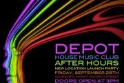 DEPOT - NEW LOCATION LAUNCH PARTY