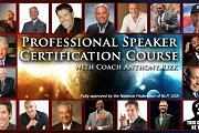 Certified Professional Speaker Course with Anthony Rizk