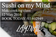 SUSHI ON MY MIND / Maki Cooking Class