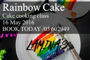 THE RAINBOW CAKE - Chef Mario Sahyoun / LA DUREE