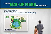 """Be the Eco-drivers of Tomorrow"" Drawing Exhibition"