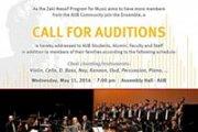 Call for Auditions - AUB Zaki Nassif Arabic Ensemble