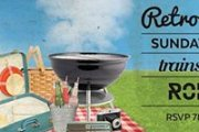 Retro Picnic at the Trainstation with Rodge