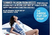 The Greek Pop Up Shop