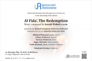 Launching of the album Al Fida', The Redemption