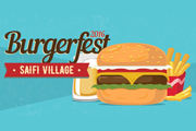 Burgerfest 2016 at Saifi Village - Lebanon's Burger Festival!