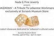 Nada G presents 'KHAIZARAN' - A Tribute To Lebanese Workmanship