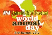 World Animal Day 2012 by APAF - SAY NO TO  FUR