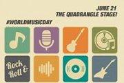 Celebrating World Music Day 2016 - The Quadrangle Stage
