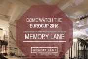 Euro 2016 at Memory Lane