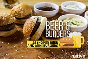 Euro Cup and OPEN Beer & Burgers at Native Global Bar