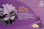 Violin Virtuoso Jihad Akl - Part of Zouk Mikael Festival 2016