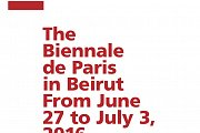 Full Program of the Biennale de Paris in Beirut, 2016