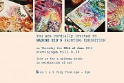 When my Fingers Paint - Nadine Eid Painting Exhibition