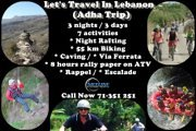 Lets's Travel In Lebanon (Adha Trip)