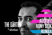 The Gärten presents Audiofly and Rony Seikaly