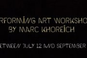 Workshop in Performing Art With Marc Khoreich