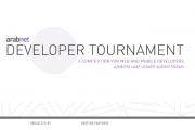 ArabNet Developer Tournament